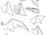 Draw Dragons Easily How to Draw Folded Dragon Wings Wing Study by Vibrantechoes Draw