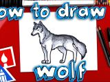 Draw Robot Wolf How to Draw A Realistic Wolf Youtube