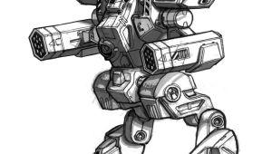 Draw Robot Wolf Mechwarrior 4 Arctic Wolf by Mecha Master Deviantart Com On