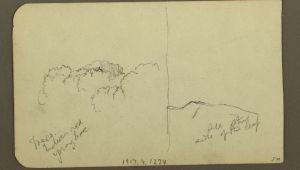 Drawing 02 02 File Drawing Peak Of Mt orizaba Verso Trees Ridge 1890 93 Ch