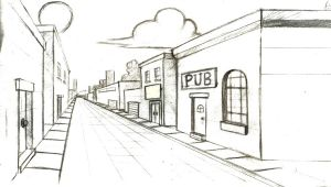 Drawing 1 Point Perspective Tutorial 1 Point Perspective Lessons Tes Teach
