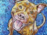 Drawing 100 Dogs Pitbull Art 100 Pitbull Art Pinterest Dog Art Art and Dog
