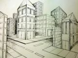 Drawing 2 Point Perspective Room 2 Point Perspective City Art Point Perspective Perspective