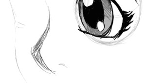 Drawing 3 4 Eyes How to Draw Eyes 3 4 View In Manga Anime Illustration Style