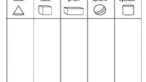 Drawing 3d Shapes Worksheet 3d Shape sort Color Draw Hkg Worksheets I I I I I I Eµ I