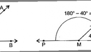 Drawing 40 Degree Angle Ncert solutions for Class 6 Maths Exercise 14 6 Mycbseguide Cbse