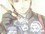 Drawing 7 Hokage Pin by S I L Y N E On Team 7 Naruto Naruto Shippuden Naruto