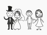 Drawing A Cartoon Bride Bride and Groom Couple Vector Silhouettes and Stencils Pinterest