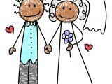 Drawing A Cartoon Bride Bride Groom Minda Ra Kka Pinterest Wedding Clip Art and Bride