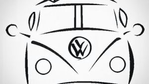 Drawing A Cartoon Bus Pin by Everett Lacy On Tattoos Pinterest Surf Art Surfing and Art