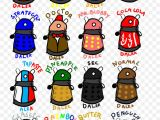 Drawing A Cartoon Cricket Random Daleks by theirritatingpenguin Draw A Cartoon Dalek Free