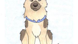 Drawing A Cartoon Husky German Shepherd by Teal Husky On Deviantart Art Paintings