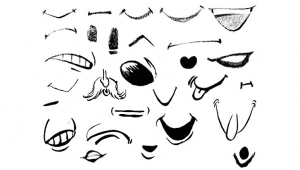 Drawing A Cartoon Mouth Drawing Cartoon Illustrated Mouths Lips Reference Sheets Draw