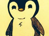 Drawing A Cartoon Penguin 24 Best Penguin Drawing Images Sketches Cool Drawings Paintings