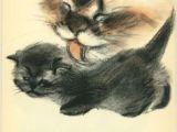 Drawing A Cat Newberry 99 Best Cat Beringer Milo C Newberry Images Cat Illustrations Cat