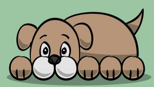 Drawing A Dog Using Circles How to Draw A Simple Cartoon Dog 11 Steps with Pictures