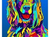 Drawing A Dog with Numbers Dog Painting by Numbers Pawups Painting Drawings Dog Paintings