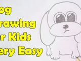 Drawing A Dog with Numbers How to Draw A Dog for Kids Youtube