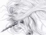 Drawing A Easy Unicorn Realistic Unicorn Drawings Unicorn Drawing In Pencil Gray Unicorn
