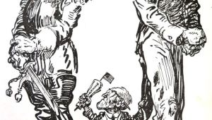 Drawing A Political Cartoon Wwi Political Cartoon Visual Studies Collection Library Of