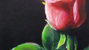 Drawing A Rose with Oil Pastels Oil Pastel Paintings Oil Pastels Flower Valentine Rose Eric