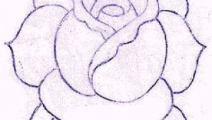 Drawing A Traditional Rose 24 Best Traditional Rose Tattoo Outline Images Traditional Rose