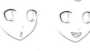 Drawing An Anime Nose Basic Anime Expressions Drawing Draw Manga Drawing Und Drawing