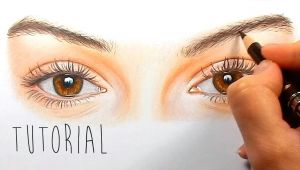 Drawing An Eye Using Colored Pencils Tutorial How to Draw Color Realistic Eyes with Colored Pencils