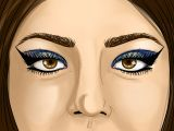 Drawing An Eye with Makeup How to Apply Egyptian Eye Makeup with Pictures Wikihow