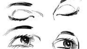 Drawing An Eye with Makeup On Hand Closed Eyes Drawing Google Search Don T Look Back You Re Not
