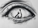 Drawing An Eye with Only One Pencil Incredibly Drawn Eye with A Hand Coming Out Of It Smarty Arty Art