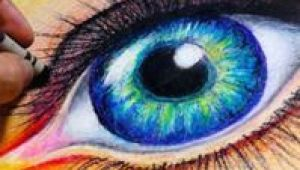 Drawing An Eye with Pastels 500 Best Crayon Oil Pastels Images Pastel Drawing Oil Pastel