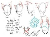 Drawing Anime Back View Cat Ears Neko Text How to Draw Manga Anime How to Draw Manga