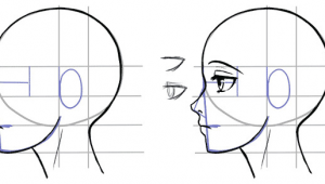Drawing Anime From the Side How to Draw the Side Of A Face In Manga Style Manga Tuts