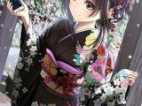 Drawing Anime Girl Kimono 47 Best Kimono Images Anime Girls Anime Art Drawings