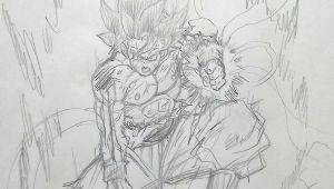 Drawing Anime Goku Goku Limit Breaker Dragon Ball Super Goku Dragon Ball Dragon
