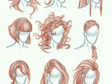 Drawing Anime Hair Tutorial Caricature Hair Caricature Drawings Character Design How to