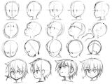 Drawing Anime Head Angles Pin Od Poua A Vatea A Kikajka Gernicove Na Nastenke Anime Drawings