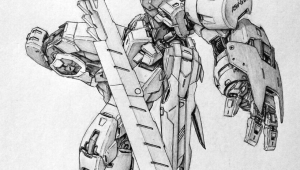Drawing Anime Mecha Awesome Gundam Sketches by Vickidrawing View More at Her Website