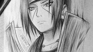 Drawing Anime Naruto 3d Itachi Uchiha Naruto Boruto Naruto Naruto Drawings Anime
