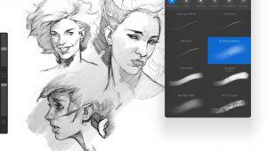 Drawing Anime On Procreate 33 Of the Best Procreate Brushes Architecture Ipad Ipad Pro