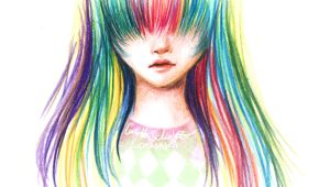 Drawing Anime Using Watercolor Pencils Colored Pencils Drawings Clipart Panda Free Clipart Images