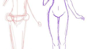Drawing Anime without Guidelines Anime Bases Anime Base Standing Guideline Drawing Help