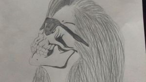 Drawing Artist Things My attempt at the Skull Drawing I Think I Did Pretty Well