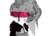 Drawing Cartoon Hair In Illustrator by Marta Ludwiszewska with Rotring Pens Www Martiszuludvikez