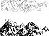 Drawing Cartoon Landscapes Moutains Landscape Drawing and Painting Pinterest Draw Art