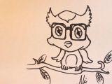 Drawing Cartoons Baby How to Draw A Baby Owl Cartoon Please Watch This In Youtube for