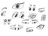 Drawing Cartoons Eyes How to Draw A Eye Easy Step by Step Prslide Com
