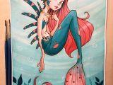 Drawing Cartoons Mermaid Mermaid Watercolor by Chrissie Zullo On Deviantart Artist