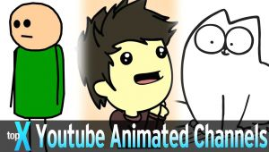Drawing Cartoons You Tube top 10 Youtube Animated Channels topx Ep 28 Youtube